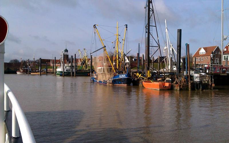 Ditzum harbour