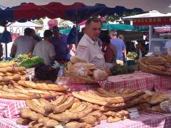 Market in St. Denis