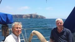 Rounding Cabo de São Vicente