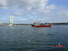 Sailing from La Coruña to Redes