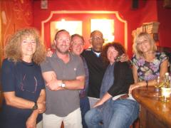 Francesca, Rob, Ted, Ashley, Becks, Liga
